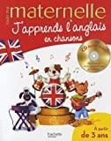J'apprends l'anglais en chansons : 3-6 ans (1CD audio)