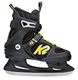 K2 Schlittschuhe Fit Ice Herren Schlittschuhe, Schwarz-Gelb, 40 EU (7.5 US), I150300501