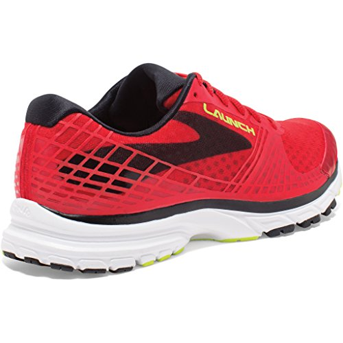 Brooks Launch 3, Running homme Rouge - Rot (HighRiskRed/Black/Nightlife)