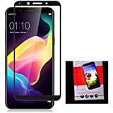 Oppo Realme 1 Tempered Glass Full Body Edge To Edge Black Anti Explosion Screen Protector,9H Hardness,2.5d D, Shatterproof Ultra Clear, Anti Scratch Free Anti Finger Print Screen Guard Protector For Oppo Real Me One