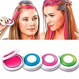 ASKSA Haarkreide, Auswaschbare Haarfarbe Kreide Haartönung Für Kinder Haarfärbemittel, Party und Cosplay DIY (Rosa)