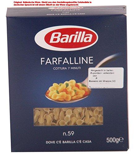 Barilla Farfalline No. 59 Teigwaren aus Hartweizengrieß 11 x 500g = 5500g