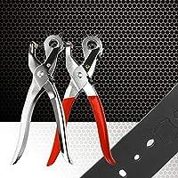 JohnJohnsen PVC 250g Cinturón Ultra Duro Profesional Agujero de Cuero Perforadora Mano Máquina Herramienta Perforadora Seis