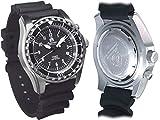 Automatik Taucher Uhr mit Spahirglas und Heliumventil T0287 - 4
