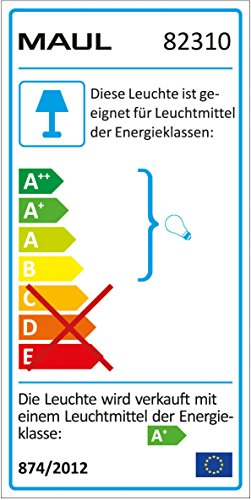 Maul Starlet A+, LED-Tischleuchte, Metall, 3 W, E27, rosa, 19 x 16 x 29 cm