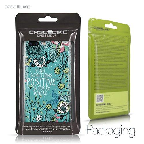 CASEiLIKE iPhone 7 Hülle, iPhone 7 TPU Schutzhülle Tasche Case Cover, Comic Beschriftung 2914, Kratzfest Weich Flexibel Silikon für Apple iPhone 7 Fiori Che Sbocciano Turchese 2249