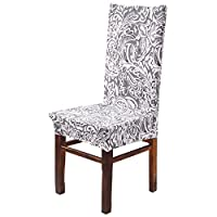 MultiWare Chair Slipcovers Stretch Removable Washable For Dining Room Wedding Folding Party 6 pieces