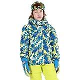 Combinaison de Ski pour Enfant Veste Pantalon de Ski Garçons Fille