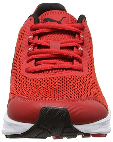 Puma Descendant V4, Scarpe da Corsa Uomo Rosso (High Risk Red-puma Black-puma Silver 11)