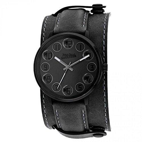 Jean Paul Gaultier Decroche Homme 42mm Bracelet Cuir Quartz Montre 8504703