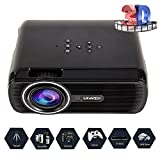 Video Projecteur LED Home Cinema Full Soutien HD 1080p Multimédia 3000 Lumens HDMI USB VGA LCD