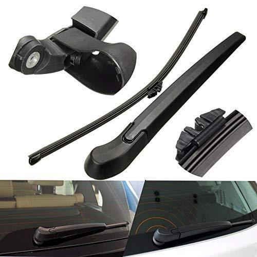 YSHtanj Heckwischer für das Auto, Außenteil, Reparaturwerkzeug, Heckscheibe, Fenster, Wischerarm, Kunststoff, Ersatz für BMW X5 X5M E70 (Kunststoff-kappen Lagerung)