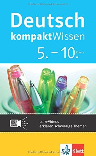 Klett kompaktWissen Deutsch 5.-10. Klasse: Lern-Videos erklären schwierige Themen