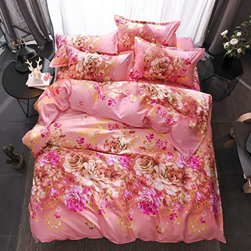 JWANS Bettwäsche Erwachsene Bettbezug Set Weiche Baumwolle Bettlaken Kissenbezug Home Hotel Bettwäsche Sets Twin Volle Größe