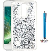 A9H Funda Transparente Dynamic Liquid Glitter Color Paillette Sand Quicksand arena movediza Star Back Cover Case para LG G4 Stylus2 LS775 shell -03HUA