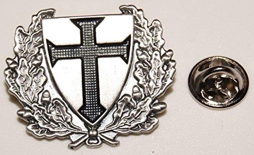 Schwarzes Kreuz Eichenlaub Militär Militaria l Anstecker l Abzeichen l Pin 84