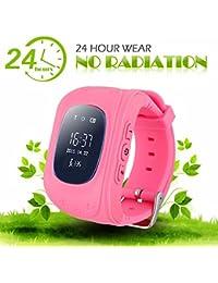 GPS Tracker Inteligente Reloj Pedómetro Reloj Smartwatch Mujer Smartwatch Niños GPS Padres de Control de iOs