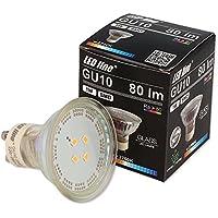 5-Pack LED-Reflektorlampe aus Glas LED-Lampe 1W GU10 Strahler Spot Lampe Leuchte (warmweiß)
