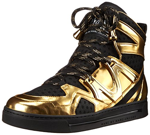 Marc By Marc Jacobs Ninja High Top Donna US 6 Oro Scarpe ginnastica EU 36