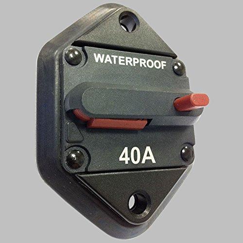 Preisvergleich Produktbild Sicherungsautomat 40Amp mit Resetschalter / Einbauversion