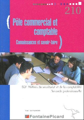 Pôle commercial et comptable Connaissance et savoir-faire : BEP Métiers du secrétariat BEP Métiers de la comptabilité 2de profesionnelle
