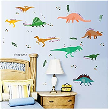 DIY Children Many Dinosaurs Wall Stickers Part 88
