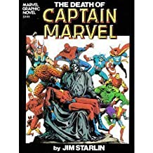 The Death of Captain Marvel by Jim Starlin (1994-08-02)