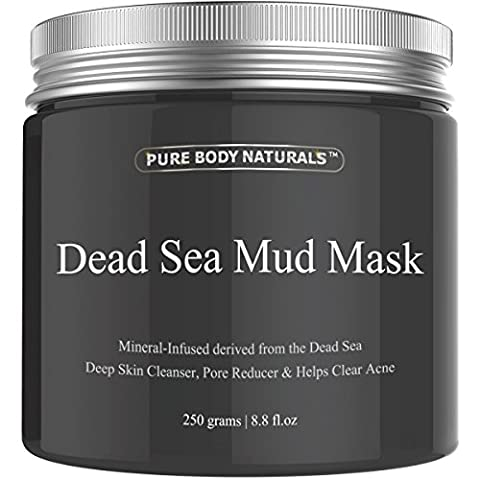 Pure Body Naturals The Best Dead Sea Mud Mask, 250G/