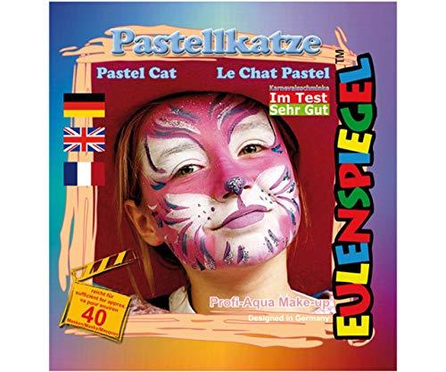 Festlegen Von Farben Für Face - Pastell-Katze, Eulenspiegel, EU 204016