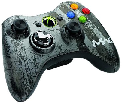 Xbox360 Wireless Branded Controller Call of Duty MW3-Design