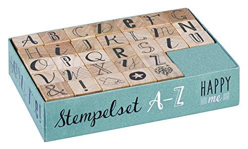 moses 63007 Happy Me Stempelset A-Z