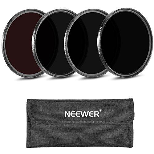 Neewer® 4 Stück 52MM Infrarot Röntgen IR Filter Set: IR720, IR760, IR850, IR950 mit Filter Tragetasche für Nikon D7100 D700 D5200 D5100 D500 D3300 D3200 D3000 D90 D80 DSLR-Kameras
