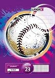 LANDRE 100050037 Schulheft 10er Pack A4 16 Blatt Lineatur 23 - rautiert 3 Motive sortiert