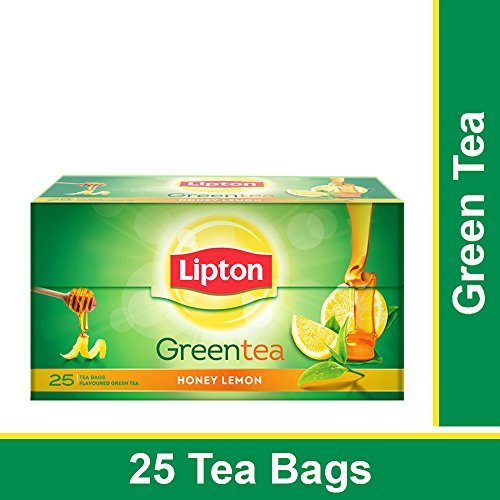 Lipton Honey Lemon Green Tea (25 Pieces)