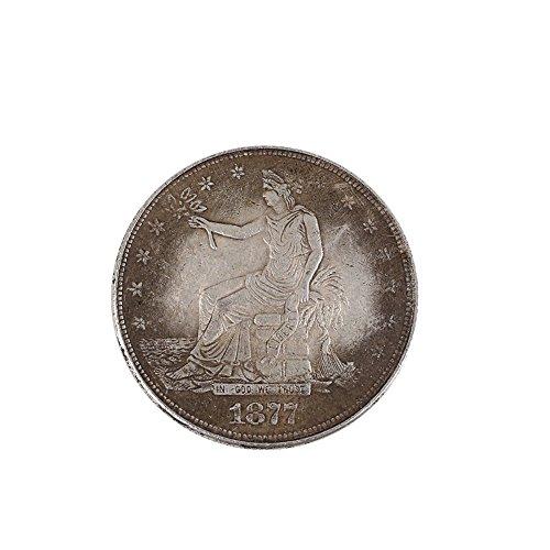 Kicode US-Dollar-Münze Schlechter Repellent Schützen Sammeln Reichtum United State Kollektion Geschenk Sammeln Reichtum United State Kollektion Geschenk Amerikanischen Ein-dollar-münze
