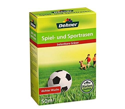 Dehner Rasensaatgut, Spiel- und Sportrasen, 1.25 kg, für ca. 50 qm