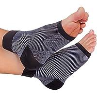 Bitly Fußbandage – Kompressionssocken Unisex – Stützen beim Sport – Helfen bei Fersensporn, Plantarfasziitis,... preisvergleich bei billige-tabletten.eu