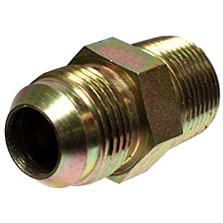 apache hose and belting inc 39006250 1/4 -Inch Male JIC x 1/4 -Inch Male Pipe Swivel, Hydraulic Adapter