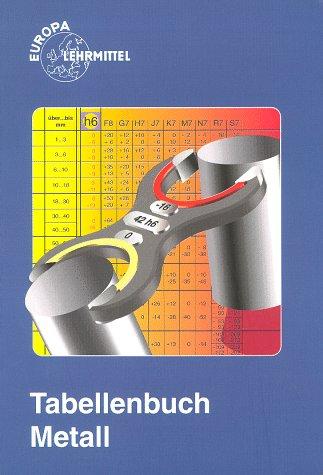 Tabellenbuch Metall (mit Formelsammlung). Tabellen, Formeln, Übersichten, Normen