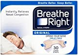Breathe Right Nasal Strips, Large - Natural, 30 Pack