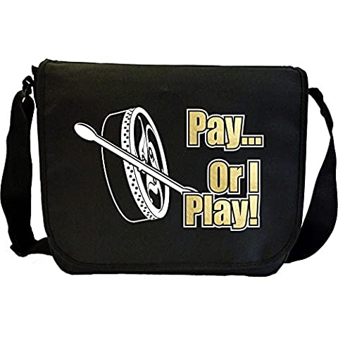 Bodhran Pay or I Play - Sheet Music Document Bag