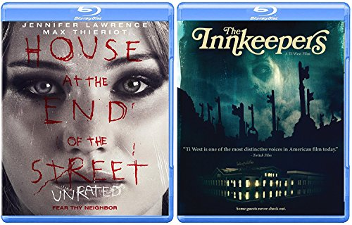 Terror Hits Home House at The End of The Street Unrated Jennifer Lawrence Blu Ray + Innkeepers Ghost Hunters Double Feature