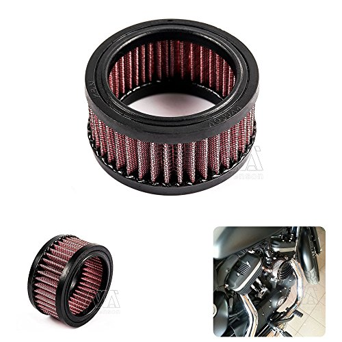 CNC Motorcycle Air Cleaner Element Replacement Filter Element For Harley Sportster 2004-2014 XL 883//1200