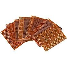 SODIAL(R) Clasico 10pzs PCB prototipo terminado soldadura para placa de circuito Tablero de