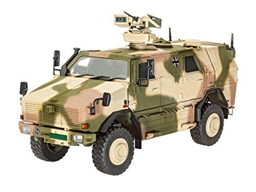 Revell Modellbausatz Panzer 1:35 - Dingo 2 GE A3.3 PatSi im Maßstab 1:35, Level 4, originalgetreue Nachbildung mit vielen Details, 03242