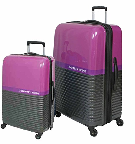 geoffrey-beene-ultra-light-weight-2-piece-hardside-purple