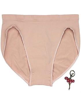 SK Mädchen Slips Turnanzug Ballett Unterwäsche Shorts Slip Girl Ballet Dance Beige Low Waist Panty For Women Briefs...