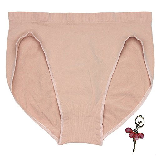 Mädchen Slips Turnanzug Ballett Unterwäsche Shorts Slip Girl Ballet Dance Beige Low Waist Panty For Women Briefs Dancing Panties M 100-120