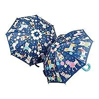 Floss & Rock Pets Blue Colour Changing Umbrella
