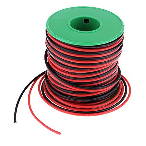 KESOTO Silikon Kabel Flexibel Draht 20Awg , Länge: 30m -